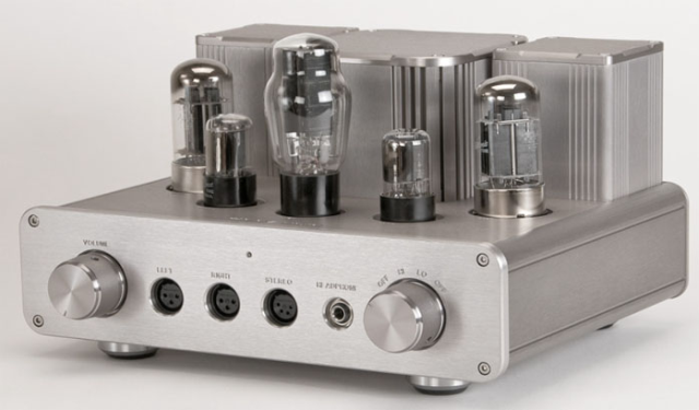 Woo Audio WA22 Tube Amp. Delivers a magical sound with high impedance headphones