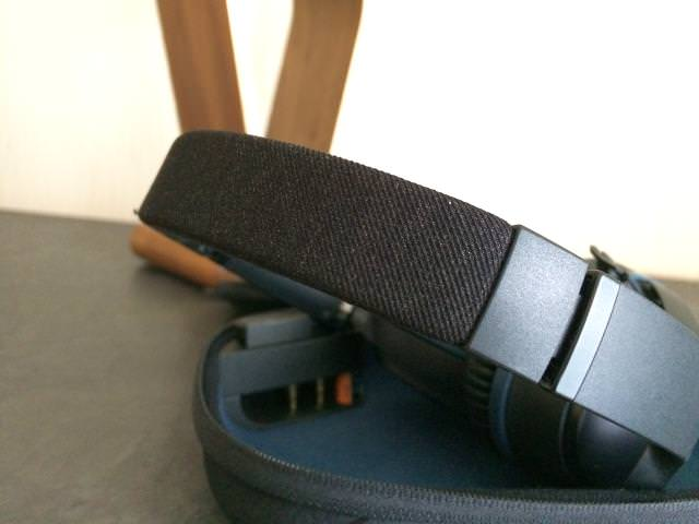 Luxury headband on the Bose QC25
