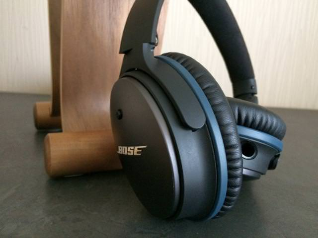 3.5mm jack on the Bose QC25