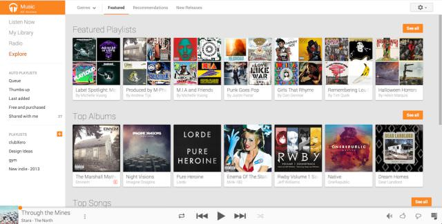 google play music overview