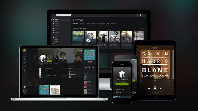 spotify on different devices