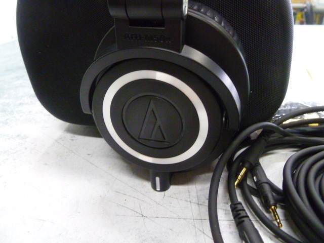 ATH-M50x logo on the earcups