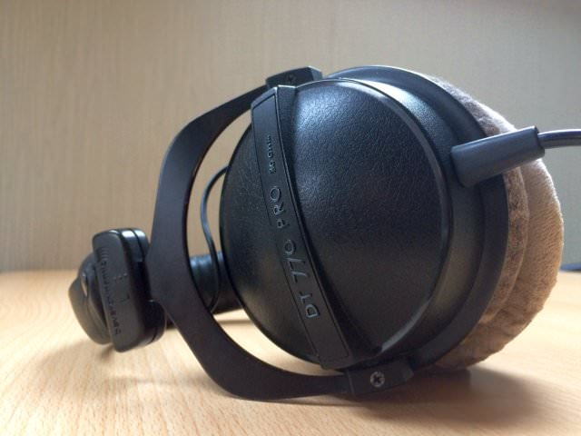 Side shot of the DT 770 Pro