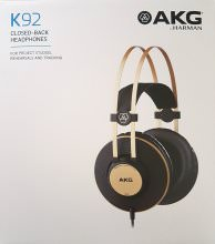 AKG K92 Headphones Package