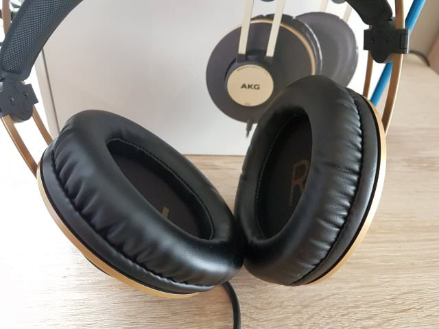 Comfortable Pleather Earpads AKG K92 Headphones