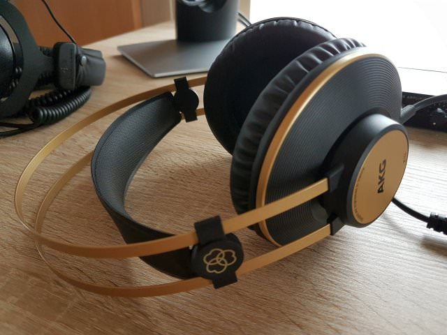 Self Adjustable Headband AKG K92 Headphones