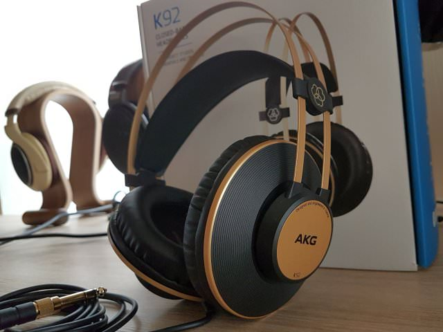 AKG K92 Black Gold Color Scheme