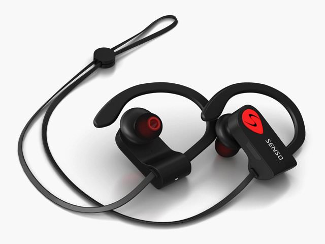 Black and Red Edition Senso ActivBuds S-250