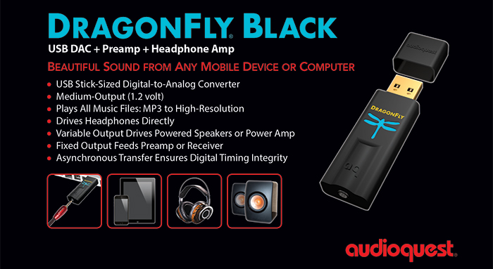 Specifications of the Dragonfly Black