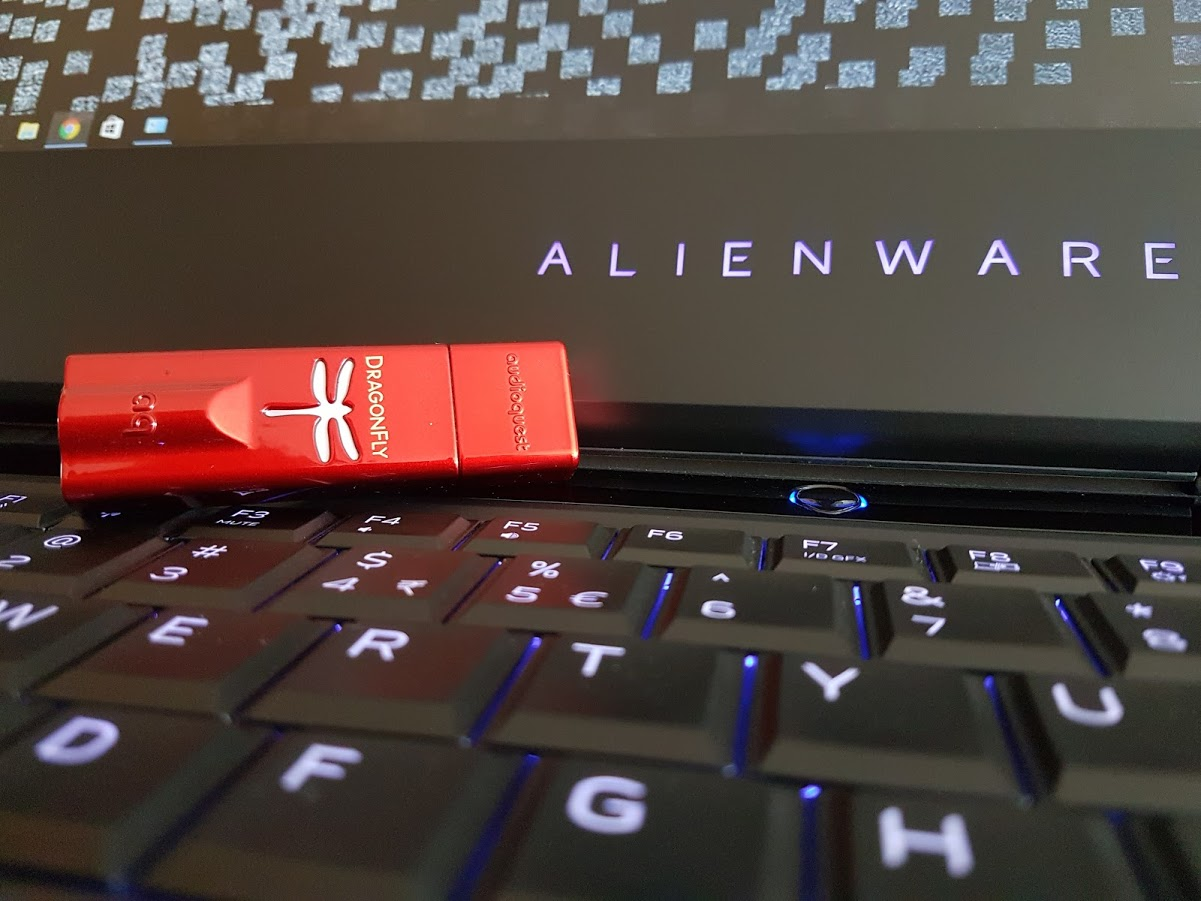 Glossy DragonFly Red DAC