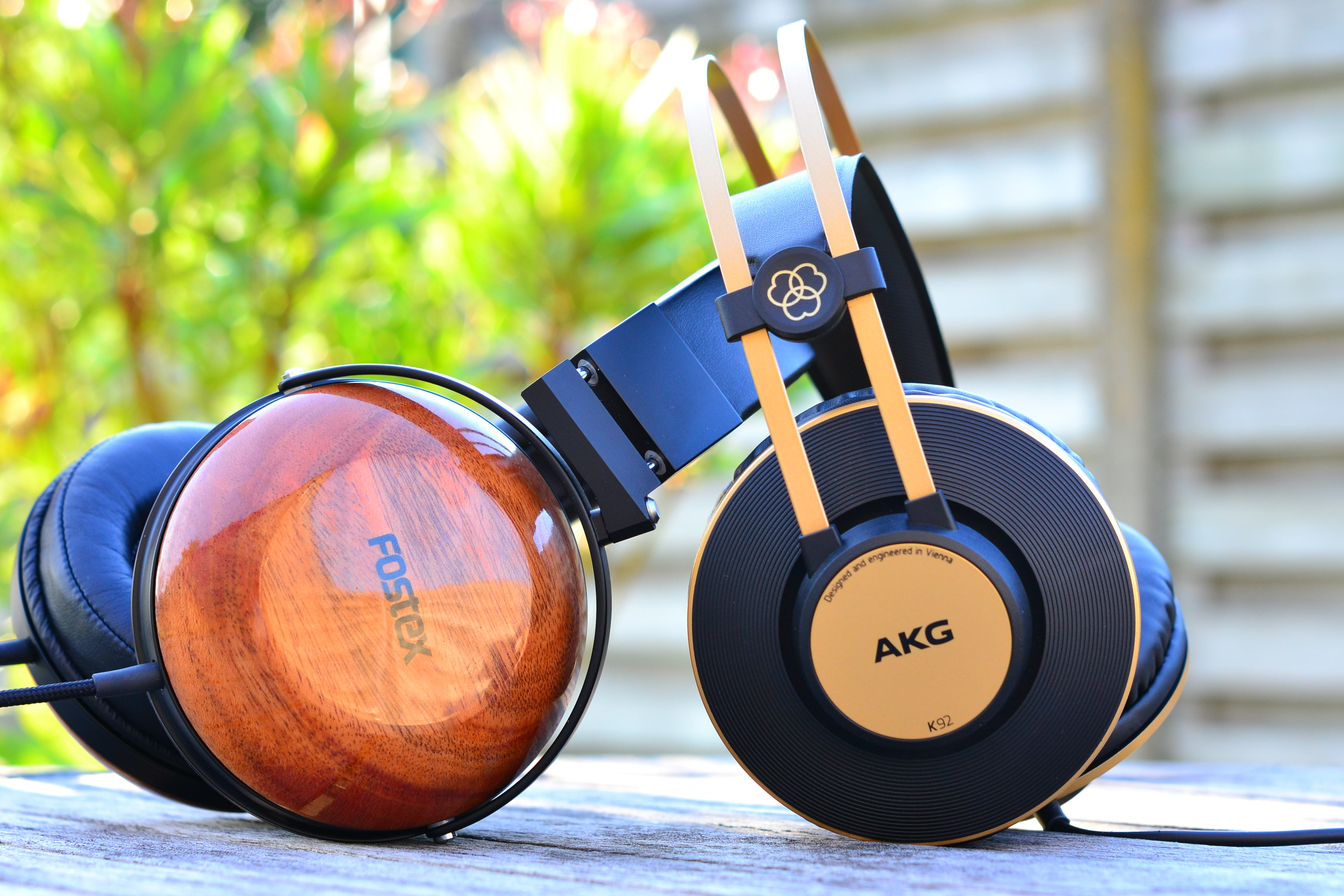 Fostex TH-X00 and AKG K92 Closed Back Headphones
