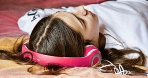 Soothing Music with Headphones