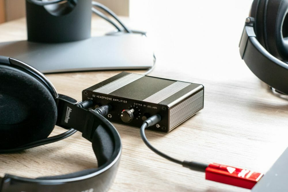 Sennheiser HD58X Powered by O2 and Dragonfly Red